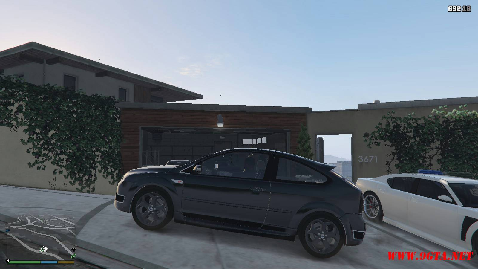 2006 Ford Focus ST Mod For GTA5 (2)