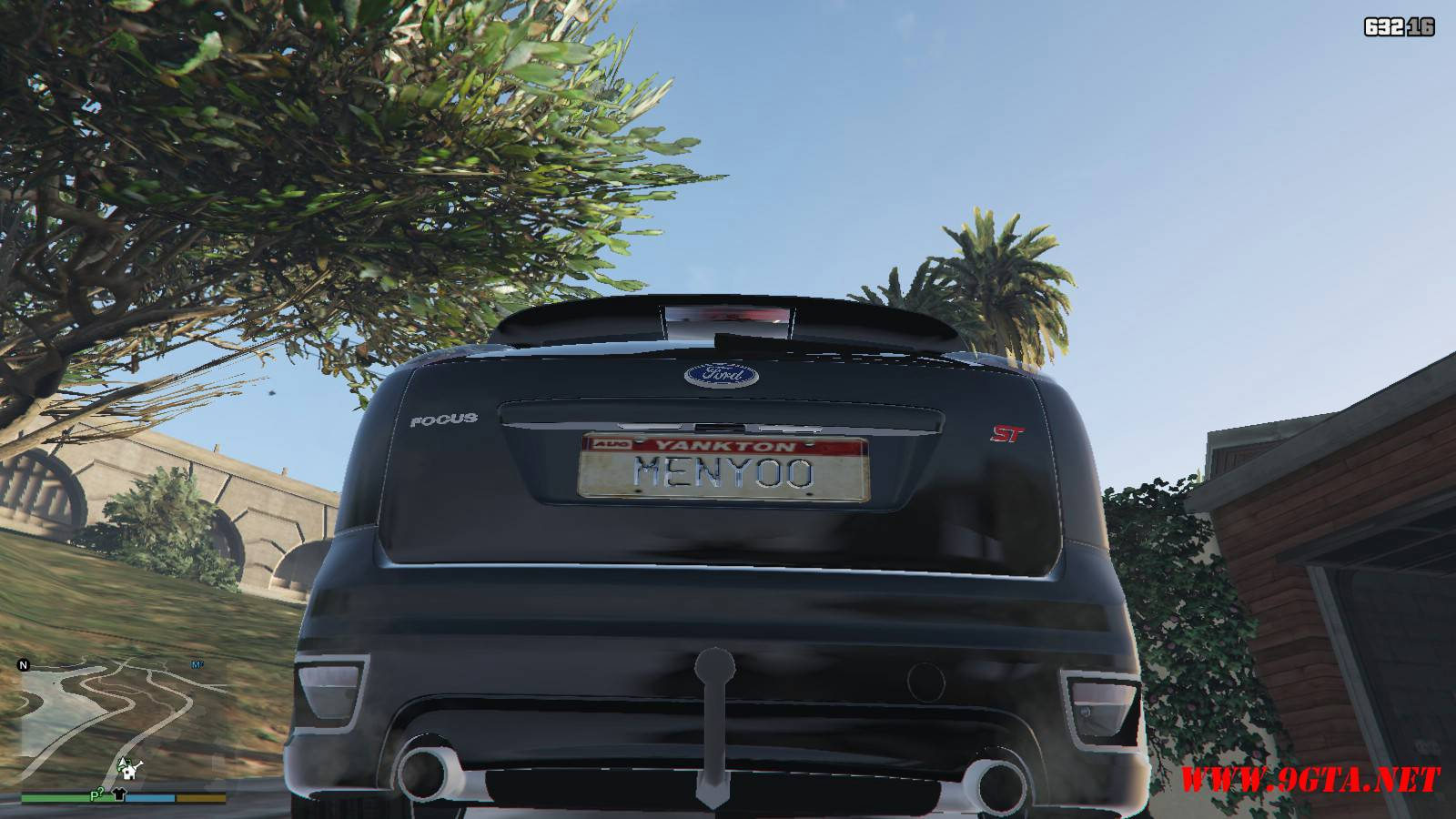 2006 Ford Focus ST Mod For GTA5 (6)