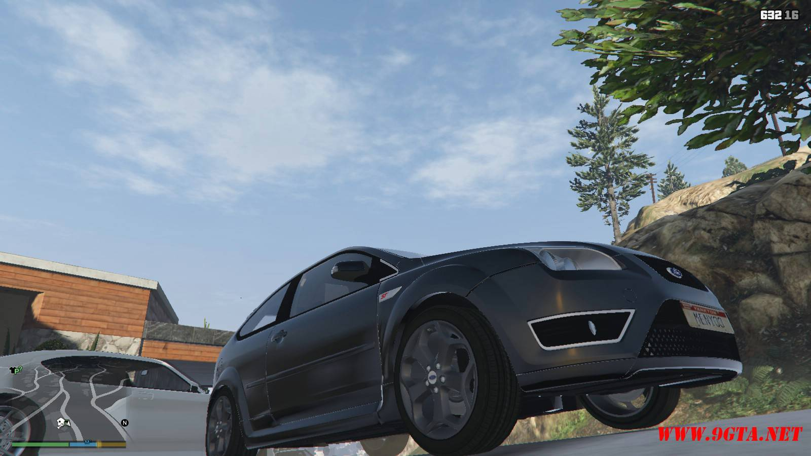 2006 Ford Focus ST Mod For GTA5 (9)