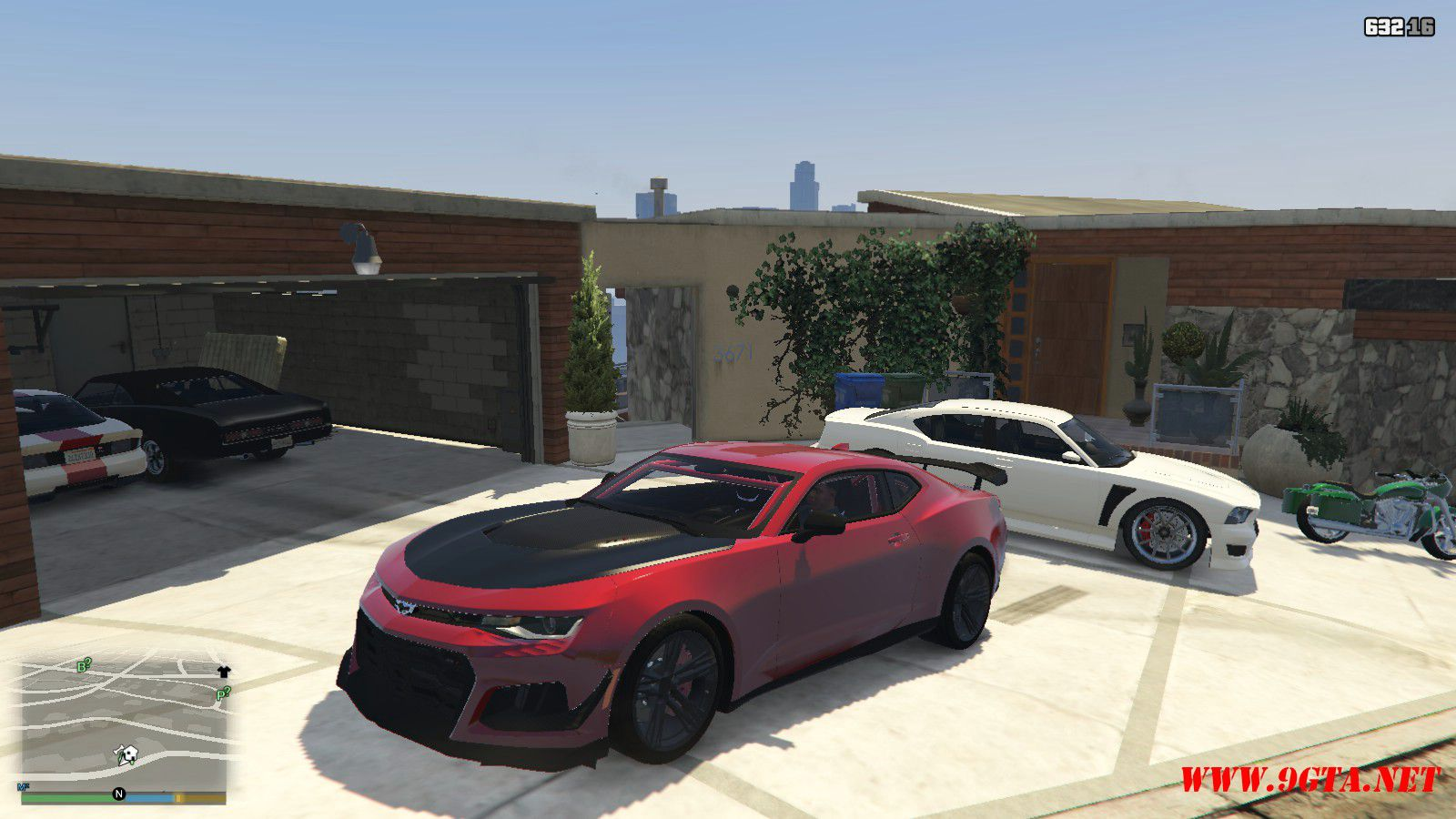 2018 Chevrolet Camaro ZL1 LE Mod For GTA5 (1)