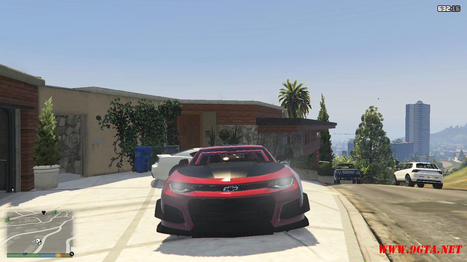 2018 Chevrolet Camaro ZL1 LE Mod For GTA5 (10)
