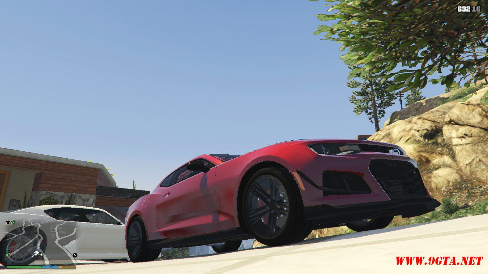 2018 Chevrolet Camaro ZL1 LE Mod For GTA5 (8)