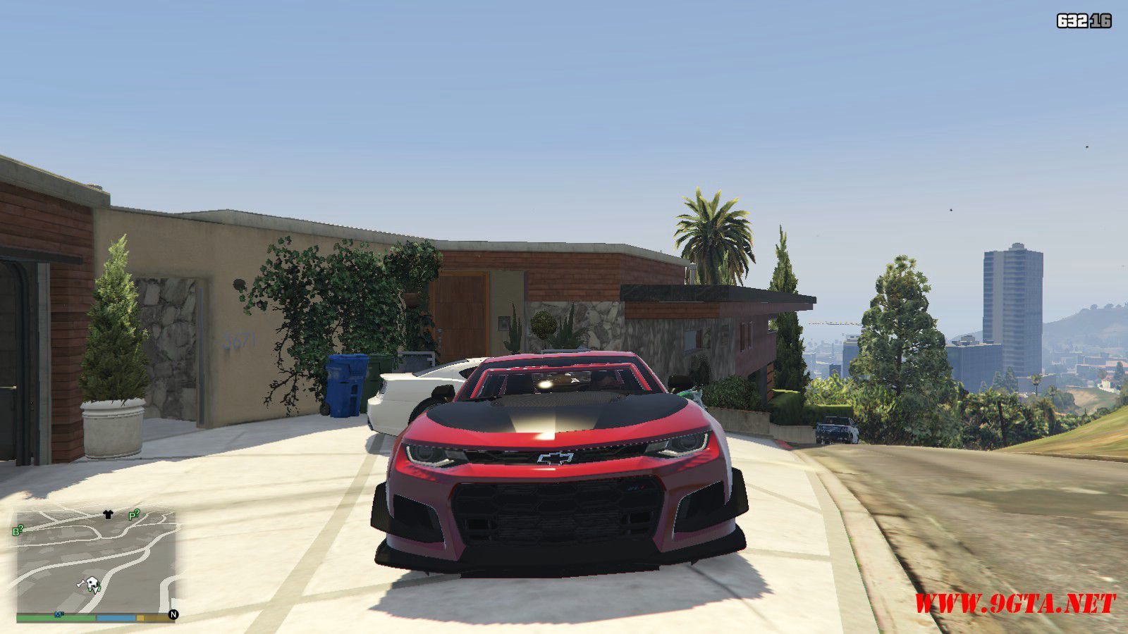2018 Chevrolet Camaro ZL1 LE Mod For GTA5 (9)