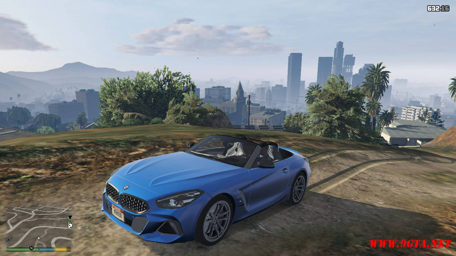 2019 BMW Z4 M40i v2.0 Mod For GTA5 (1)