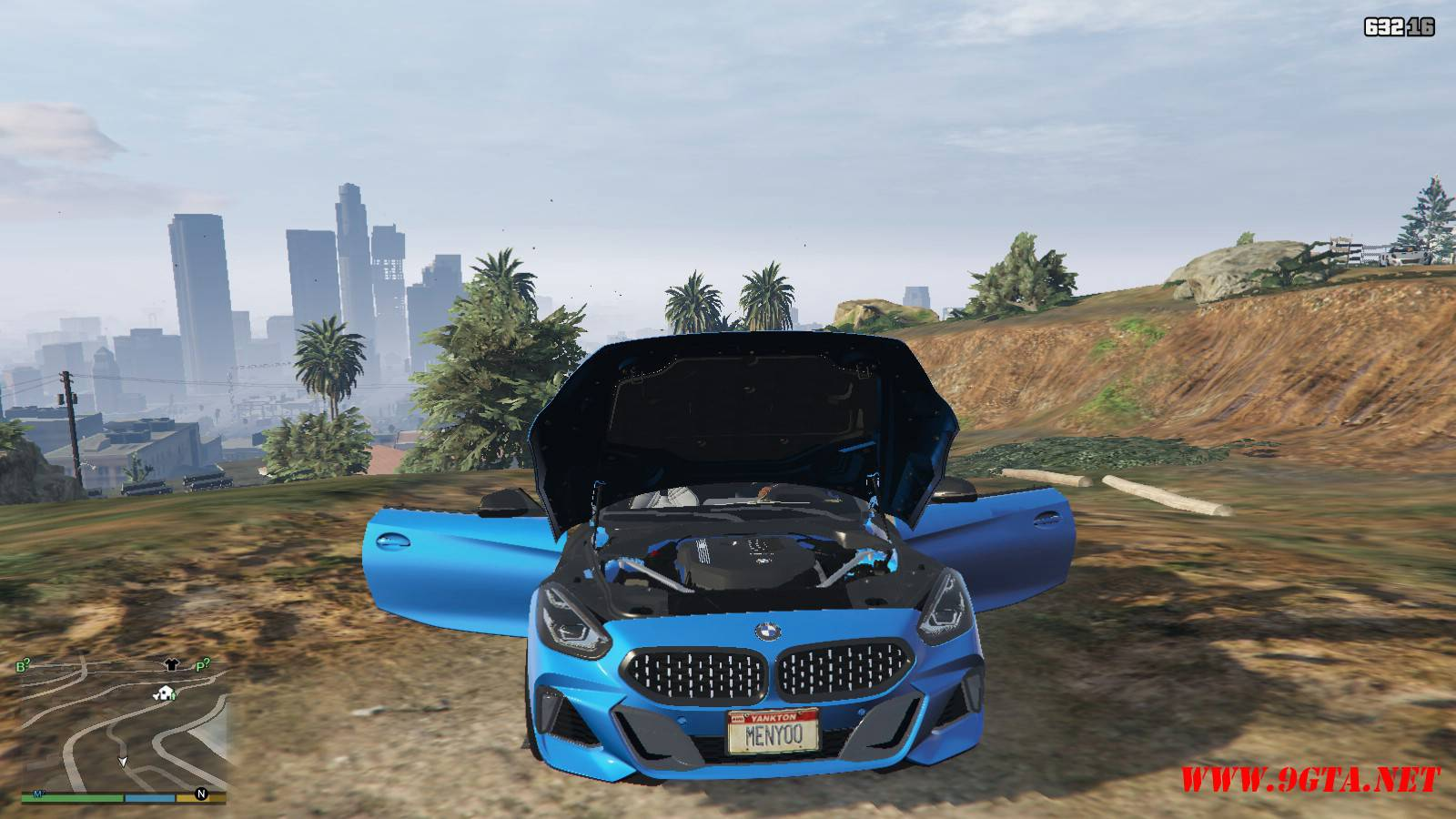 2019 BMW Z4 M40i v2.0 Mod For GTA5 (13)