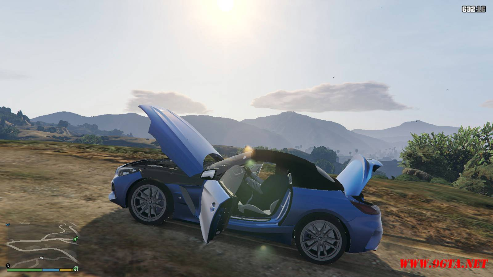 2019 BMW Z4 M40i v2.0 Mod For GTA5 (14)