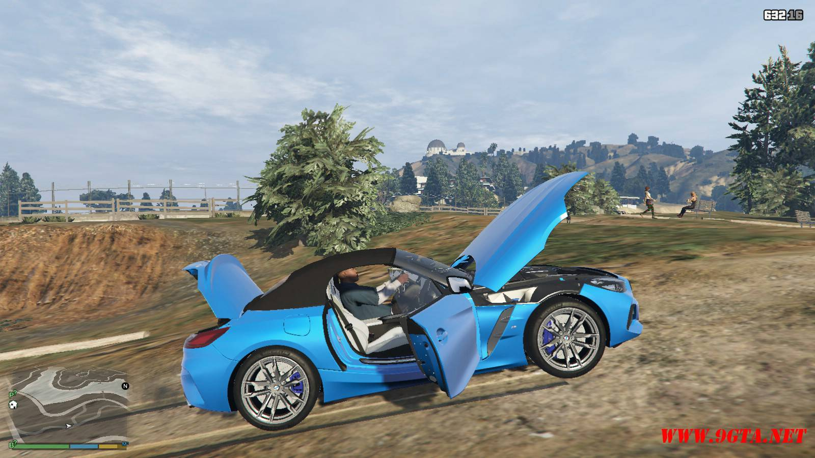2019 BMW Z4 M40i v2.0 Mod For GTA5 (16)