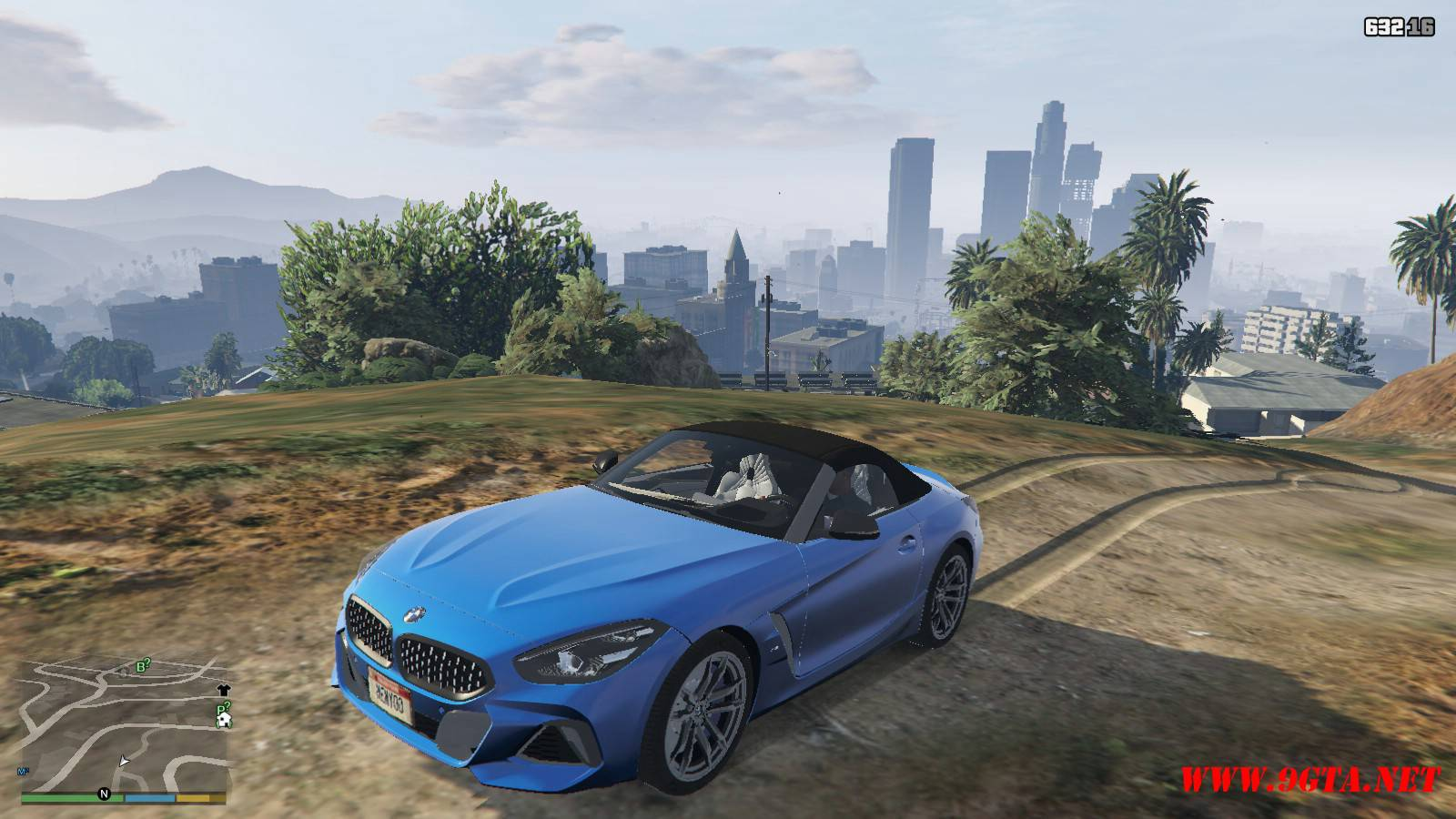 2019 BMW Z4 M40i v2.0 Mod For GTA5 (17)