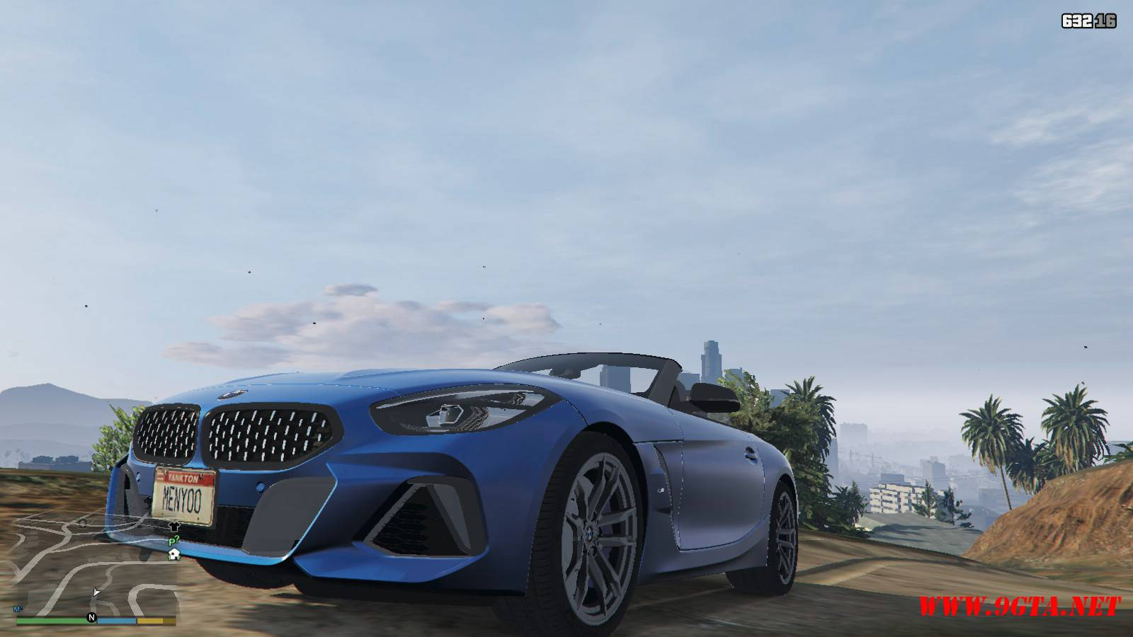 2019 BMW Z4 M40i v2.0 Mod For GTA5 (3)
