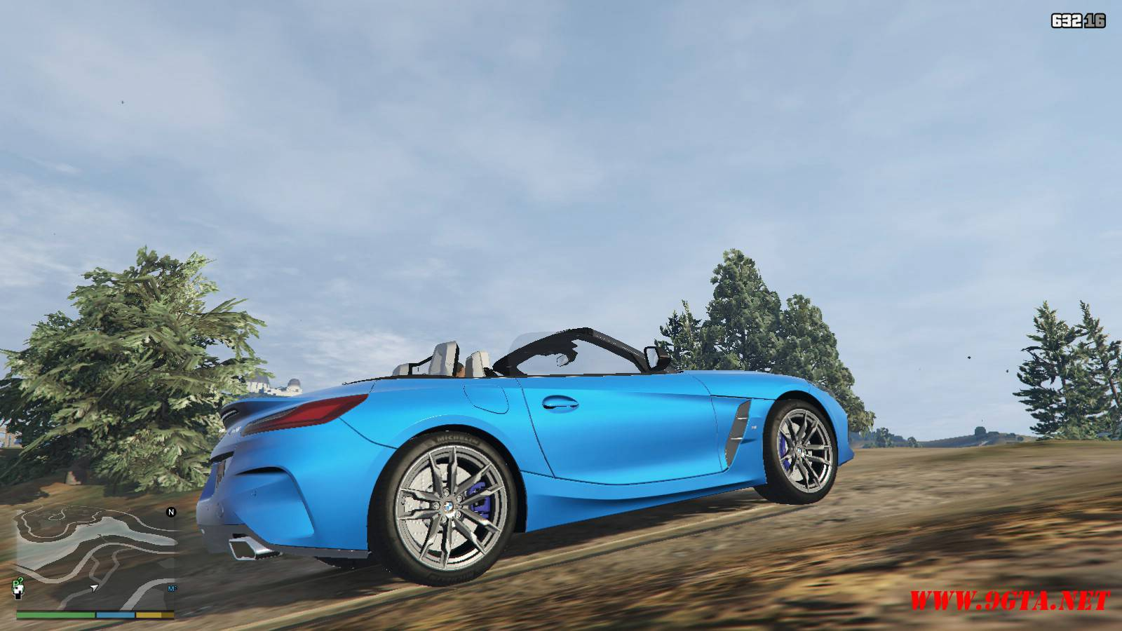 2019 BMW Z4 M40i v2.0 Mod For GTA5 (6)