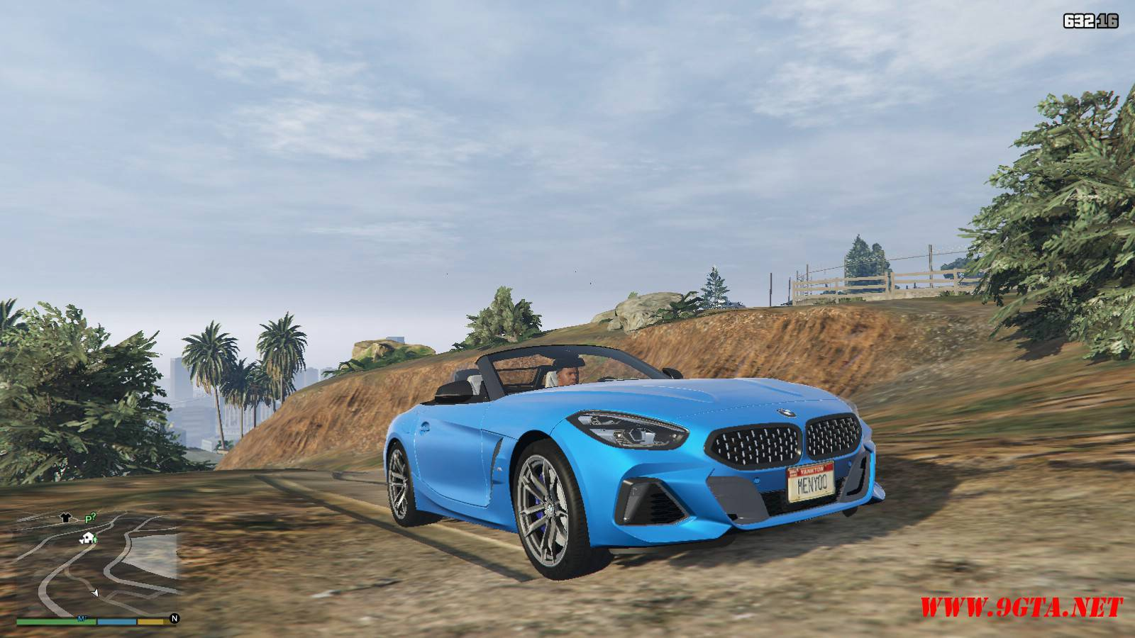 2019 BMW Z4 M40i v2.0 Mod For GTA5 (7)