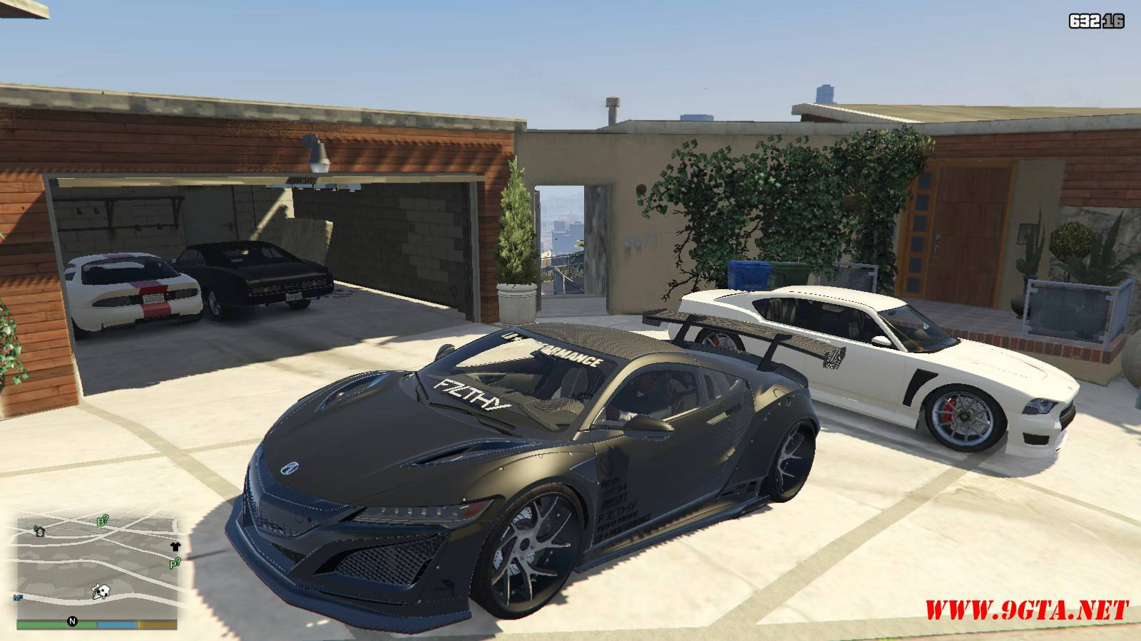 Acura NSX Liberty Walk Mod For GTA5 (1)