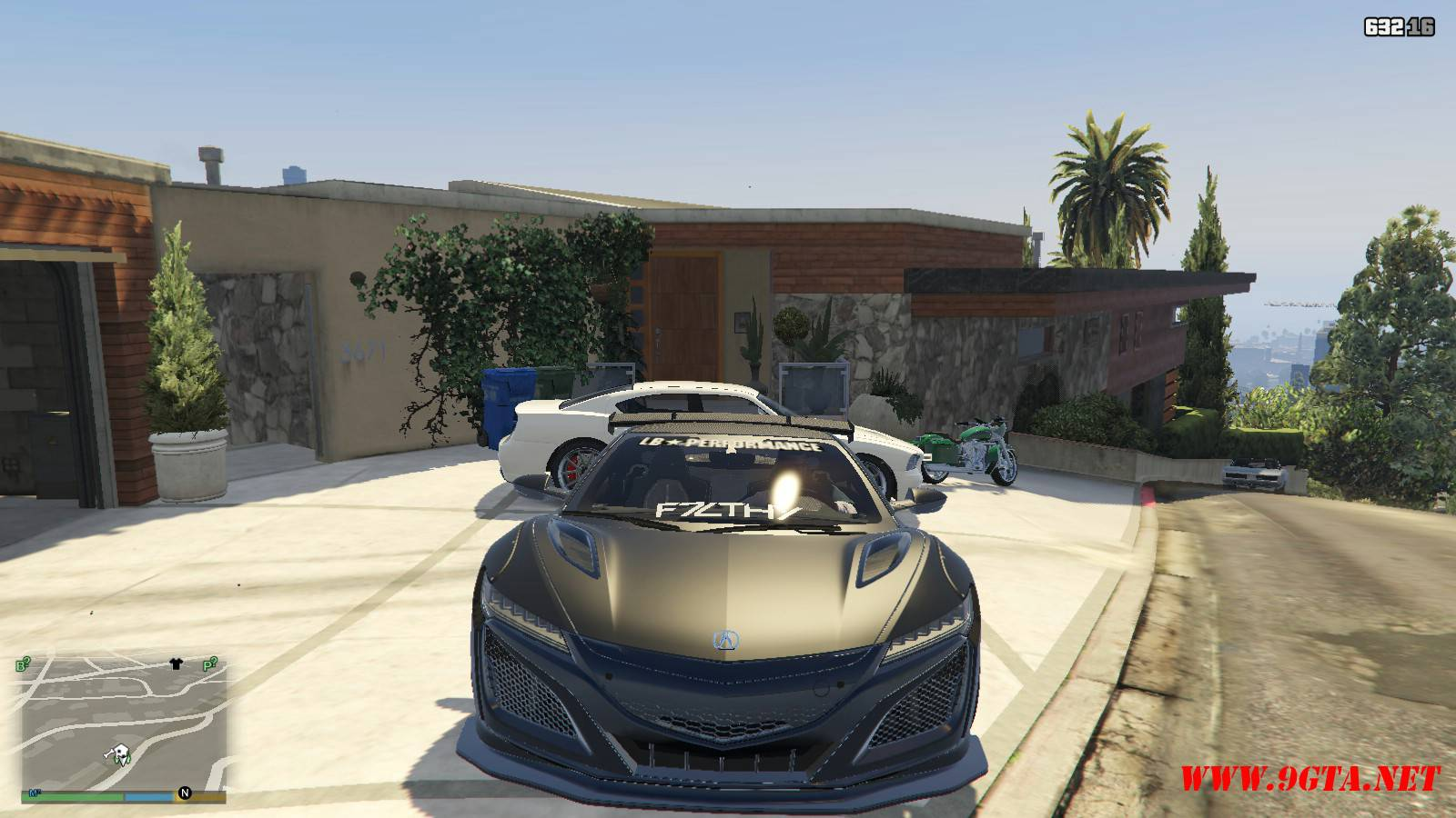 Acura NSX Liberty Walk Mod For GTA5 (10)