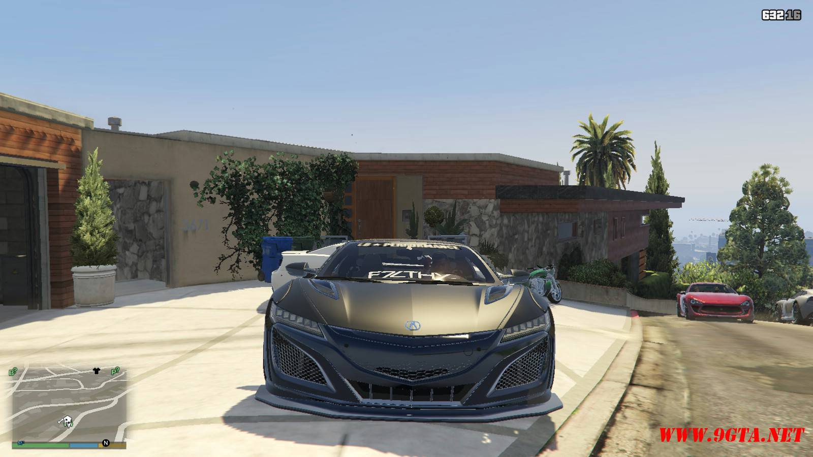 Acura NSX Liberty Walk Mod For GTA5 (11)