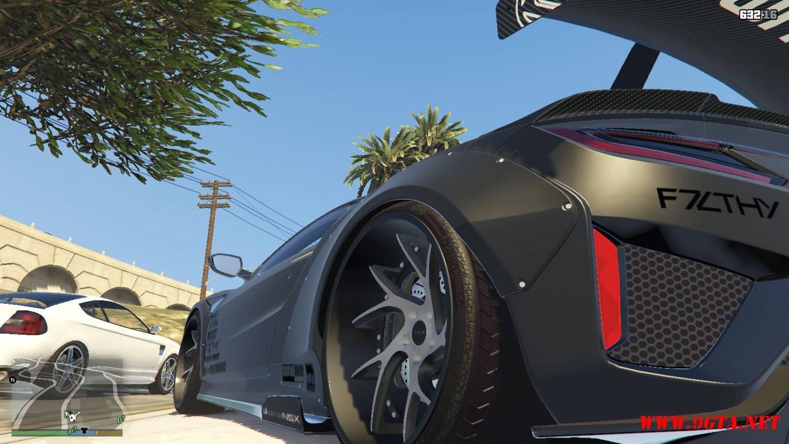 Acura NSX Liberty Walk Mod For GTA5 (3)