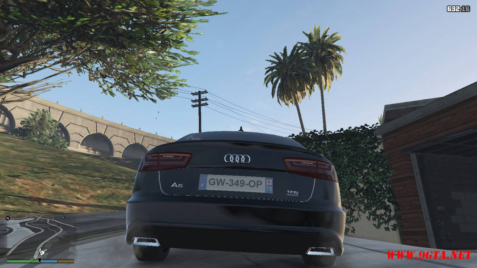 Audi A6 Mod For GTA5 (5)