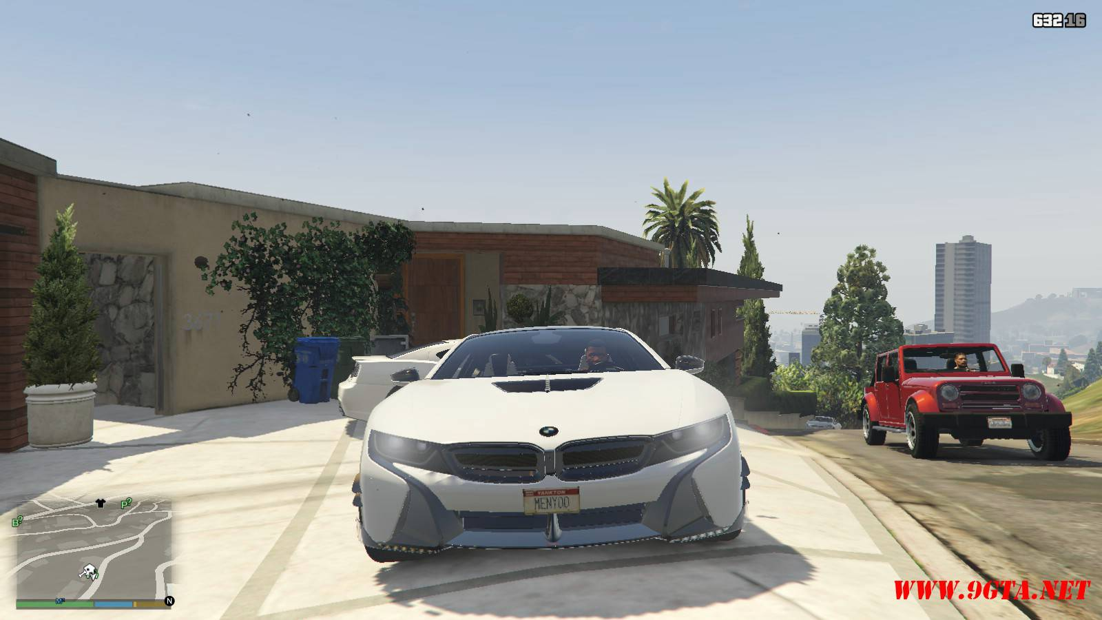 BMW i8 AC Schinitzer ACS8 Mod For GTA5 (10)