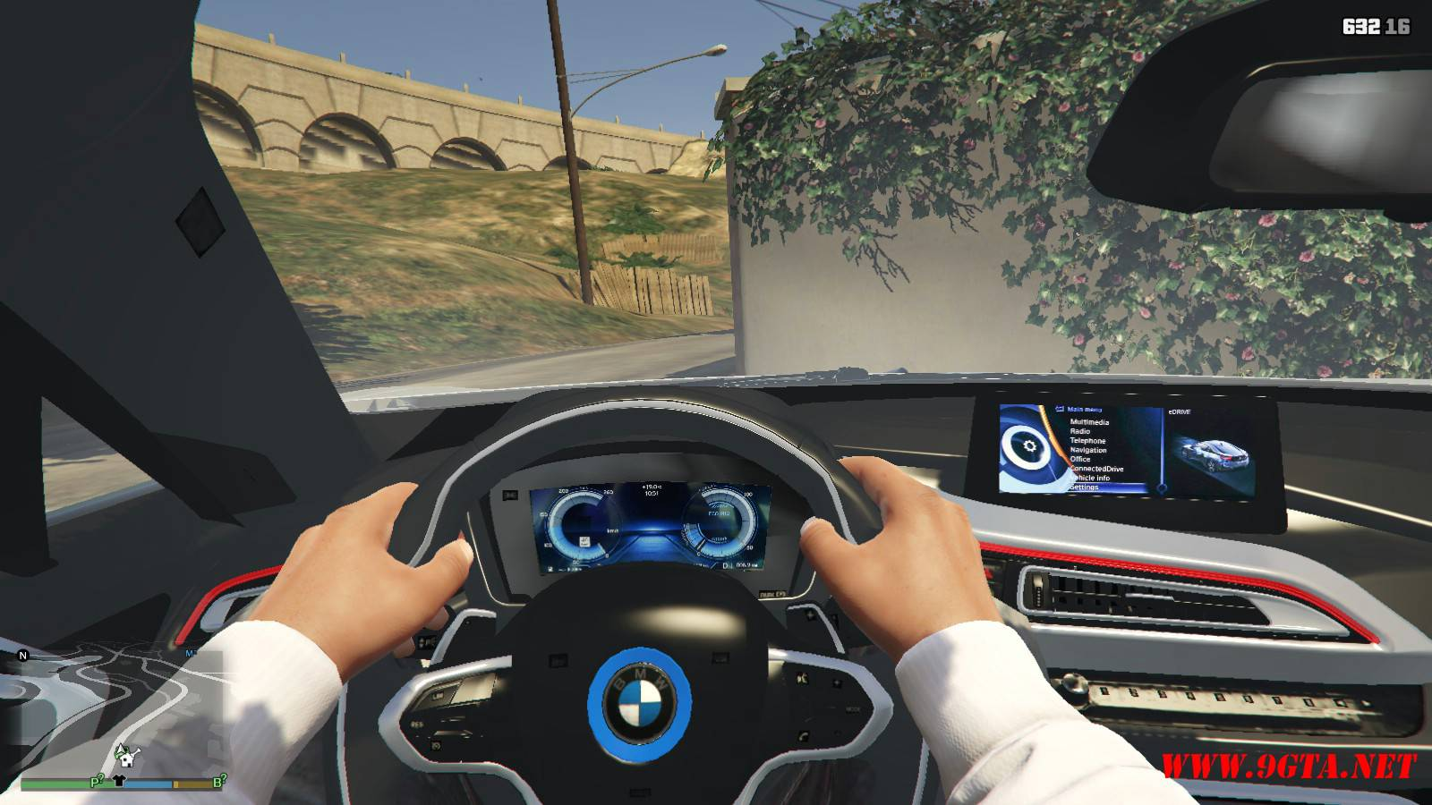 BMW i8 AC Schinitzer ACS8 Mod For GTA5 (11)