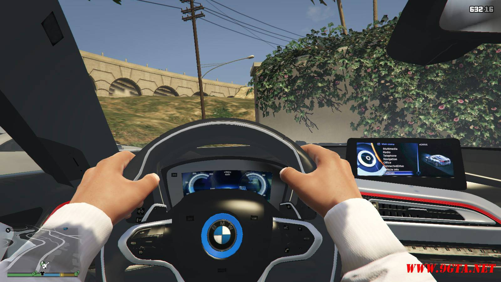 BMW i8 AC Schinitzer ACS8 Mod For GTA5 (12)