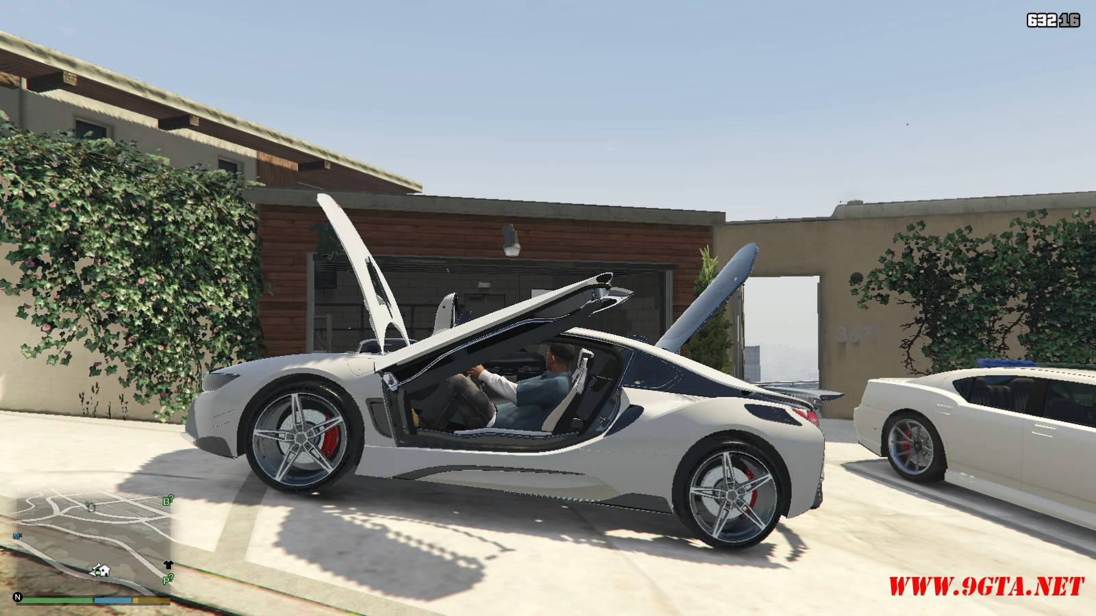 BMW i8 AC Schinitzer ACS8 Mod For GTA5 (14)