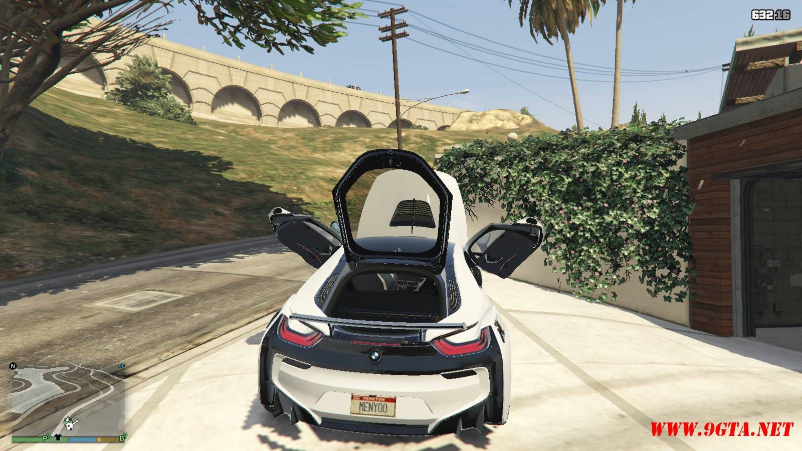 BMW i8 AC Schinitzer ACS8 Mod For GTA5 (15)