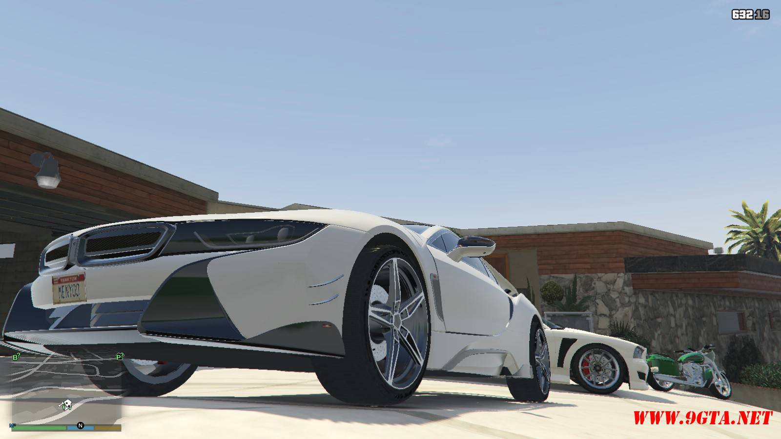 BMW i8 AC Schinitzer ACS8 Mod For GTA5 (3)