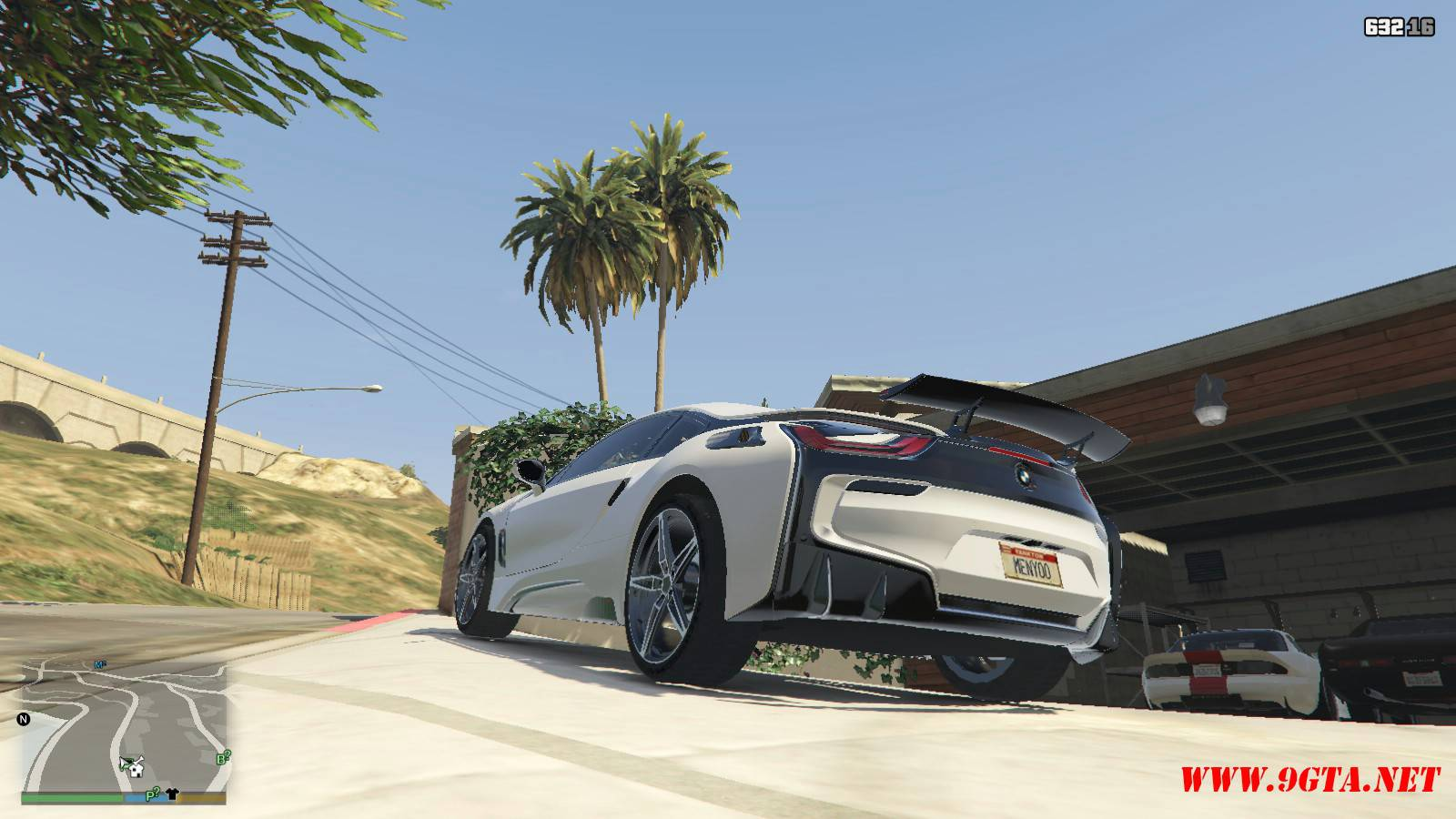 BMW i8 AC Schinitzer ACS8 Mod For GTA5 (4)