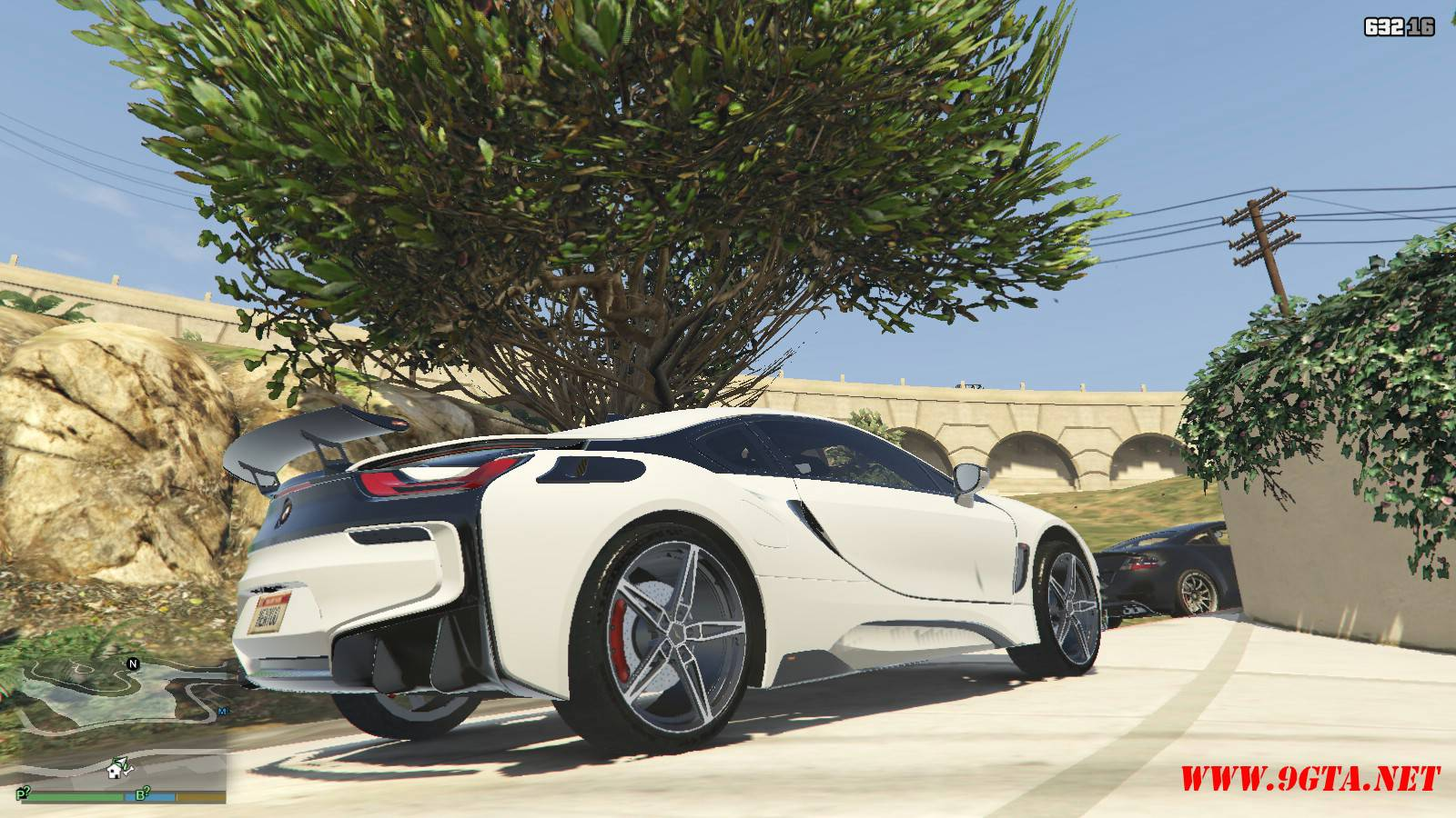 BMW i8 AC Schinitzer ACS8 Mod For GTA5 (6)