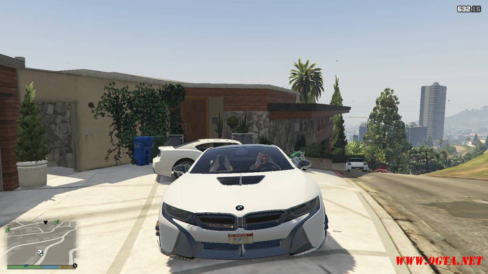 BMW i8 AC Schinitzer ACS8 Mod For GTA5 (9)