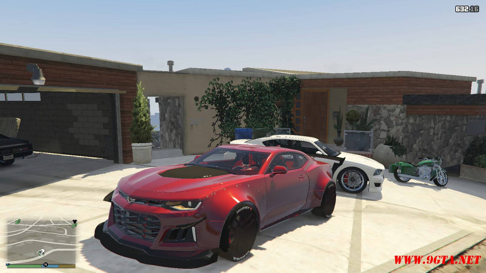 Chevy Camaro ZL1 Forza Edition Mod For GTA5 (1)
