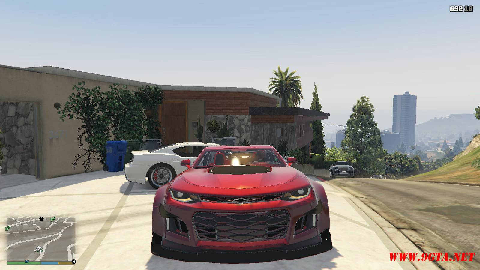 Chevy Camaro ZL1 Forza Edition Mod For GTA5 (10)