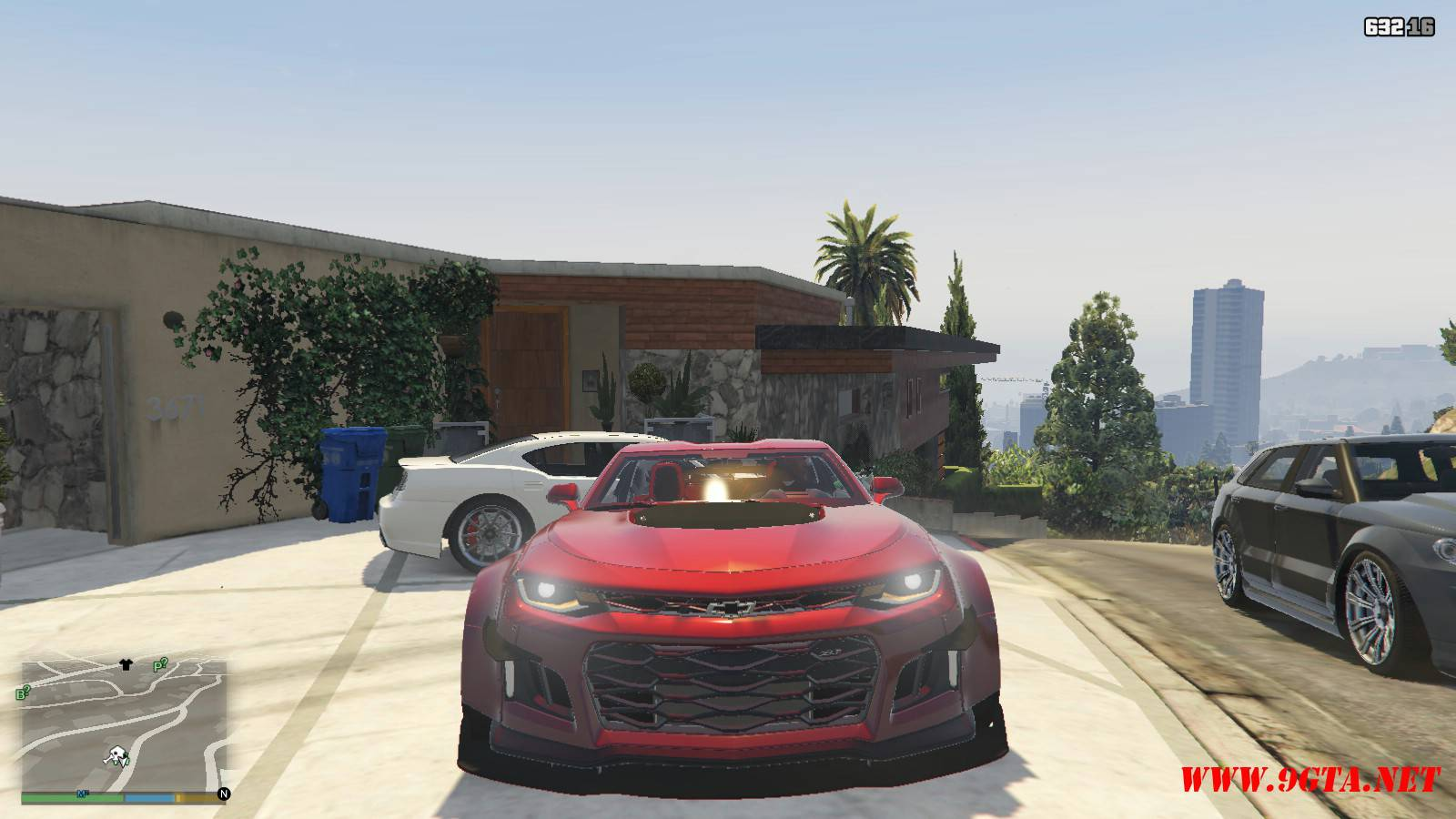 Chevy Camaro ZL1 Forza Edition Mod For GTA5 (11)