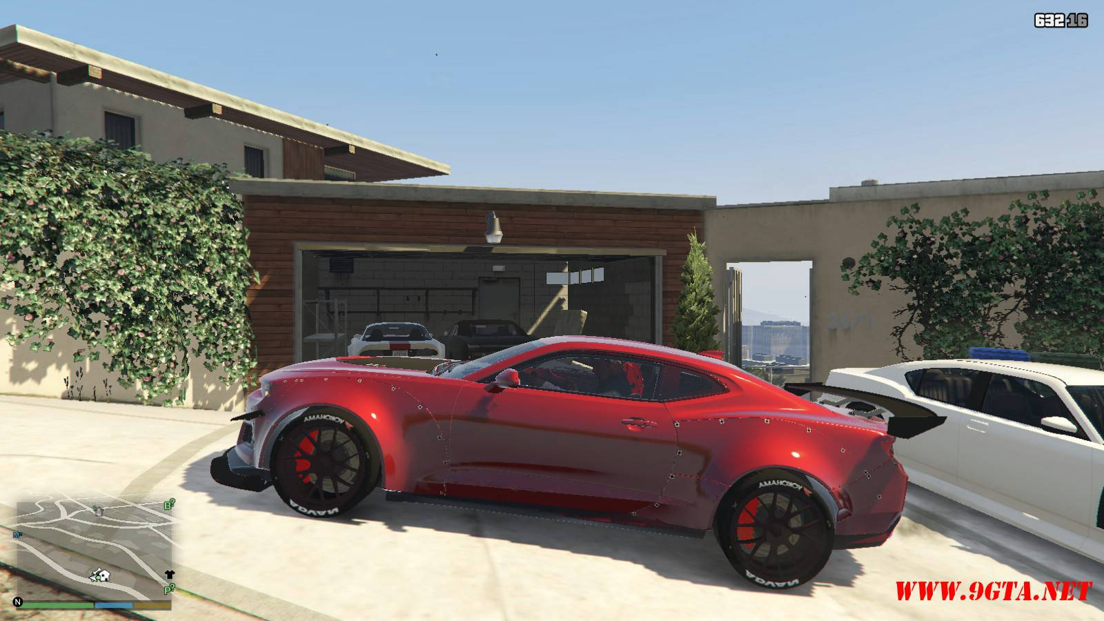 Chevy Camaro ZL1 Forza Edition Mod For GTA5 (2)