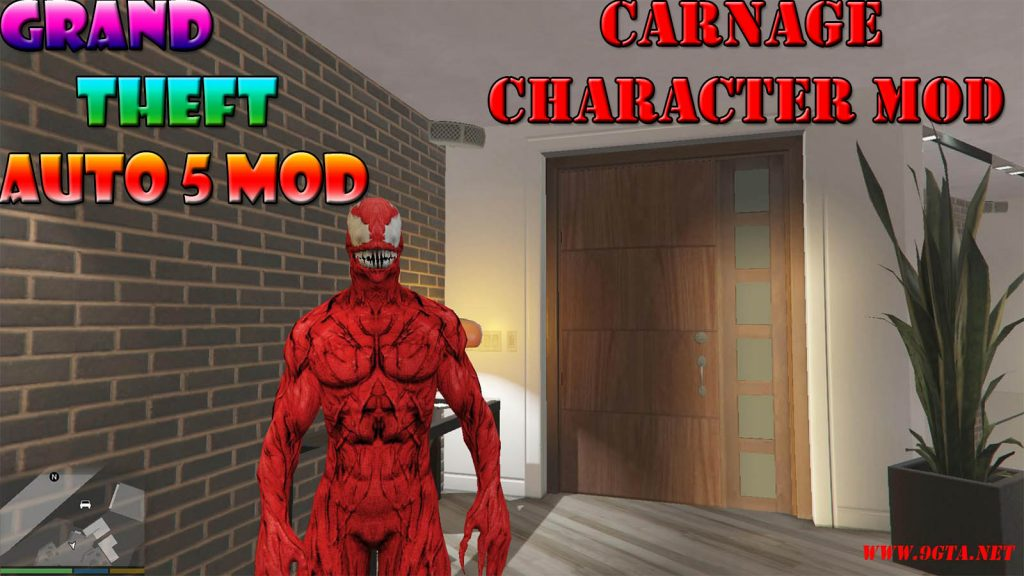 Carnage Character Mod For GTA5