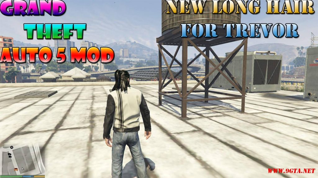 New Long Hairstyle For Trevor Mod For GTA5