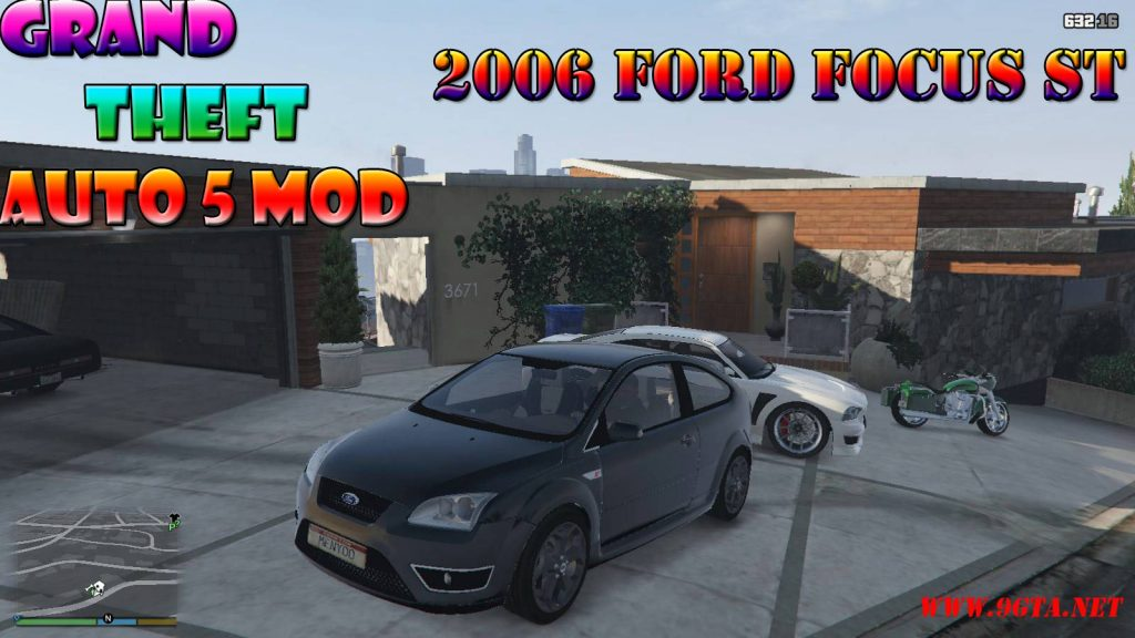 2006 Ford Forcus ST Mod For GTA5