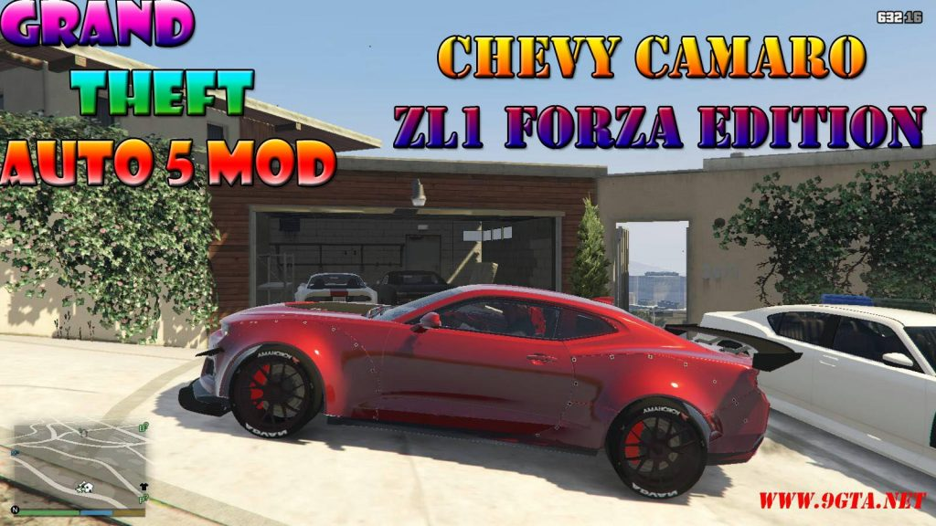 Chevy Camaro ZL1 Forza Edition Mod For GTA5