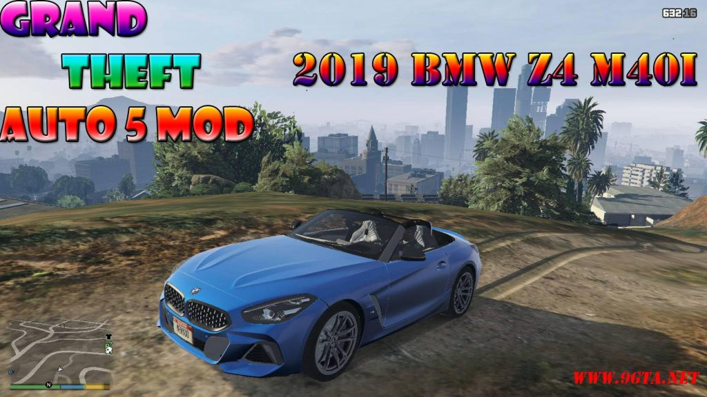2019 BMW Z4 M40i v2.0 Mod For GTA5