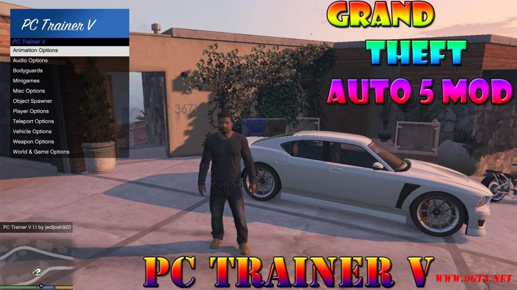 PC-Trainer v1.1 Mod For GTA5