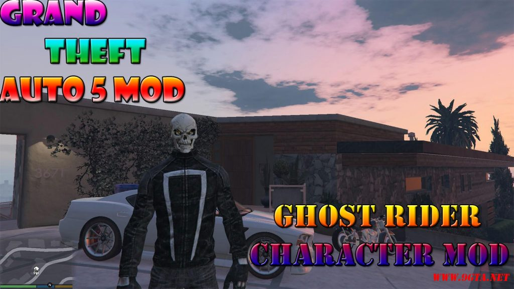 Ghost Rider Character Mod For GTA5