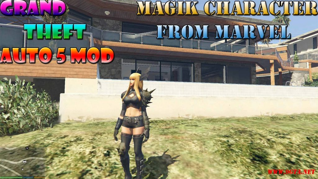 Magik Character From Marvel Future Fight Mod For GTA5