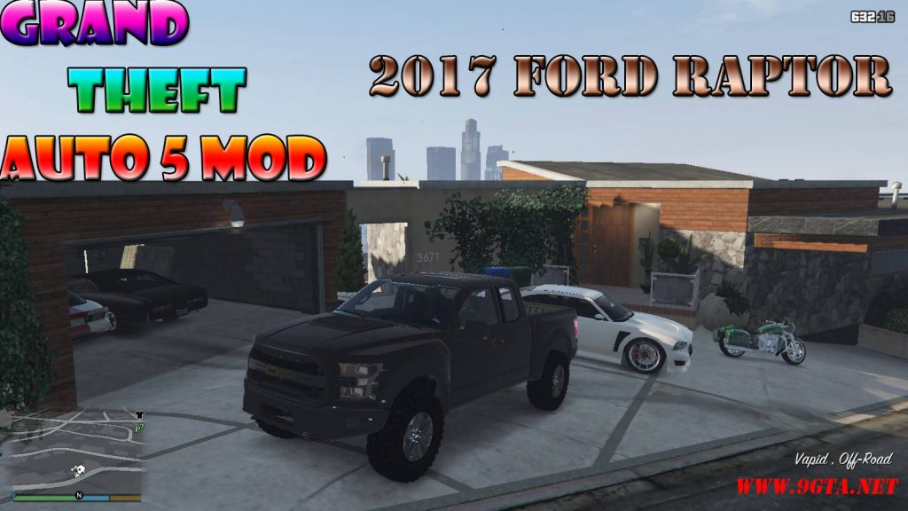 2017 Ford Raptor HQ Mod For GTA5