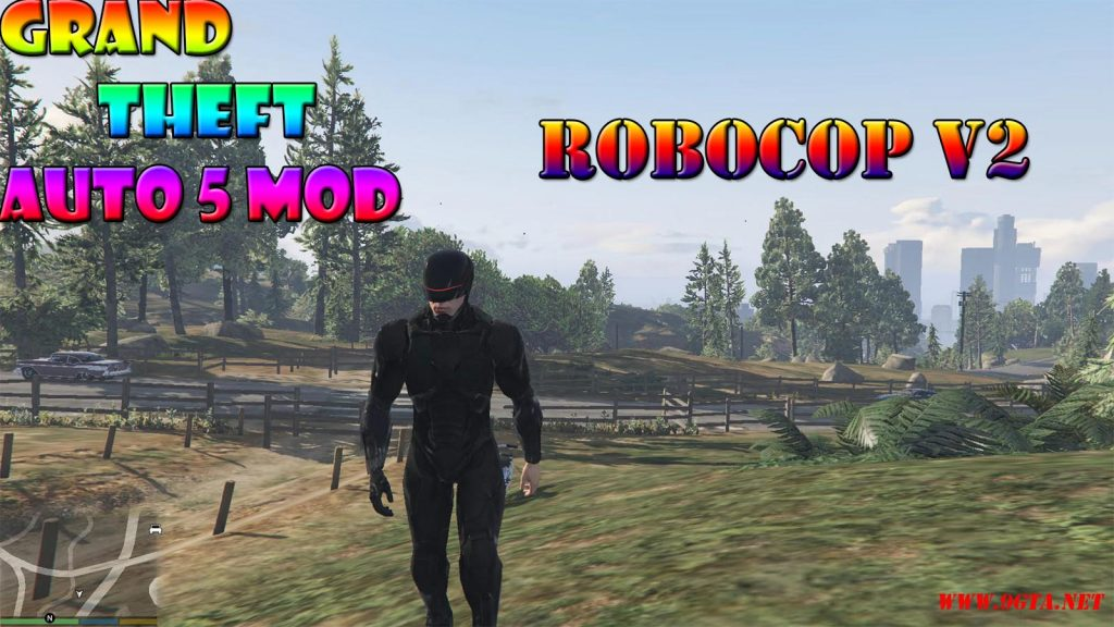 Robocop V2 Character Mod For GTA5