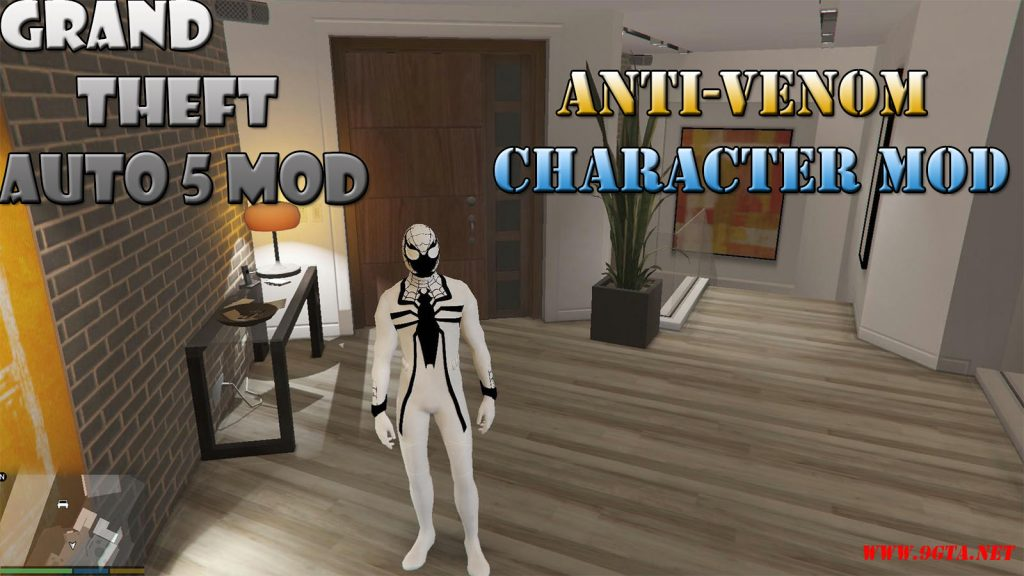 Spider-Man Anti-Venom Character Mod For GTA5