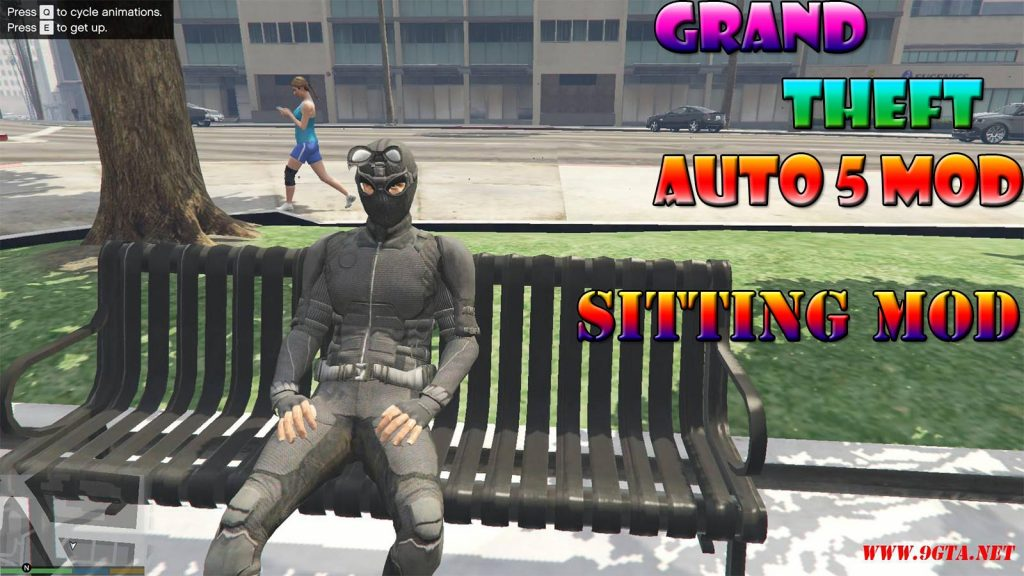 Sitting Mod Mod For GTA5