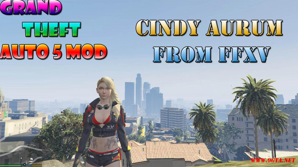 Final Fantasy XV Cindy Character Mod For GTA5