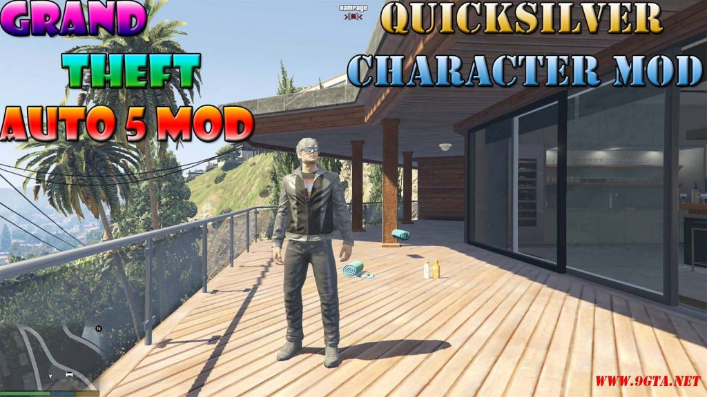 Quicksilver Character From X-Men Mod For GTA5