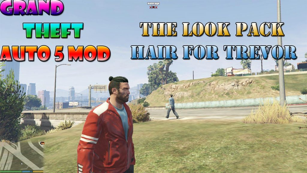 The Look Pack Hair And Beard For Trevor Mod For GTA5