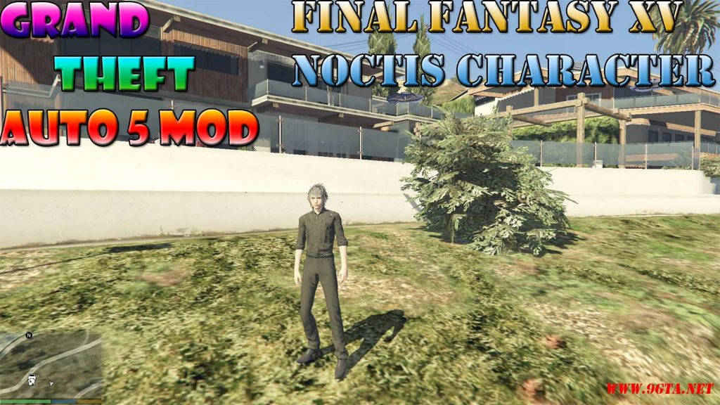 Final Fantasy XV Noctis Character Mod For GTA5