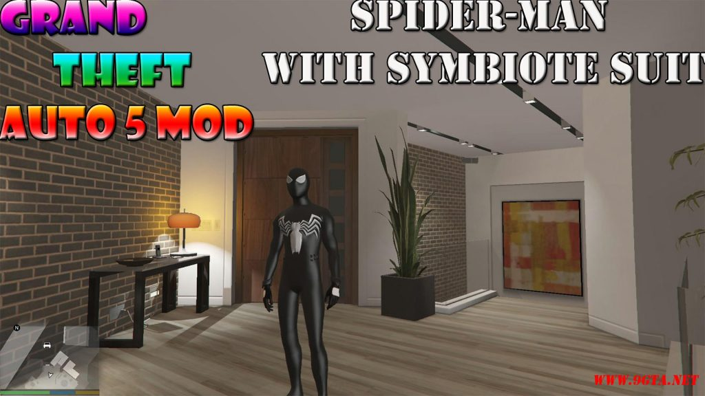 Spider-Man Symbiote Suit Mod For GTA5